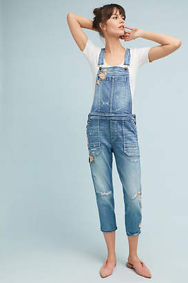 Driftwood Olivia Embroidered Overalls