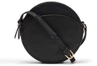 Banana Republic Italian Leather Canteen Crossbody Bag