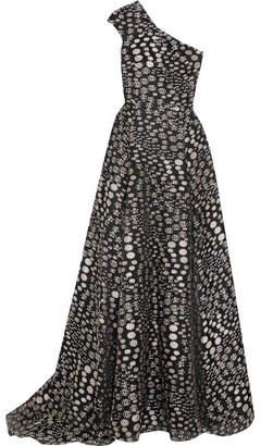 Roland Mouret Hampstead Fil Coupé Gown - Black
