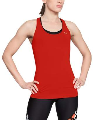 Under Armour Red 'Ua Heatgear® Armour' Racer Tank Top