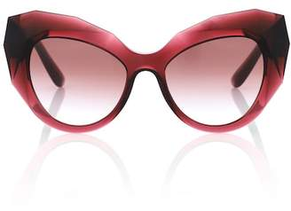 Dolce & Gabbana Oversized cat-eye sunglasses