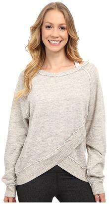 Hard Tail - Easy Cross-Under Sweatshirt Women's Sweatshirt $92 thestylecure.com