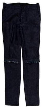 Sacai Skinny Cut-Out Jeans w/ Tags