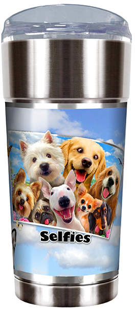 Dog 'Selfies' 24-Oz. Party Cup