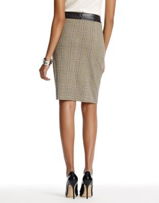 Jones New York Collection A-Line Skirt with Zip Pockets