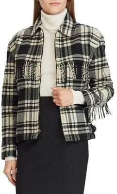 Polo Ralph Lauren Fringe Tweed Jacket
