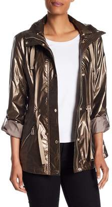 Kenneth Cole New York Removable Hooded Jacket
