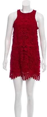 Lovers + Friends Guipure Lace Mini Dress