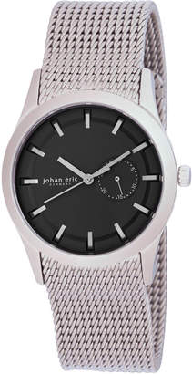 Johan Eric Men's Agersø Quartz Silver Stainless steel Bracelet Watch