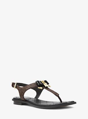 Michael Kors Alice Logo Sandal