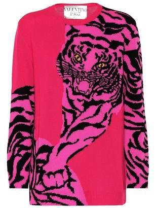 Valentino Tiger Re-Edition cashmere sweater