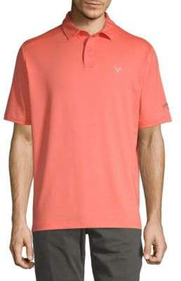 Callaway Opti Short-Sleeve Polo