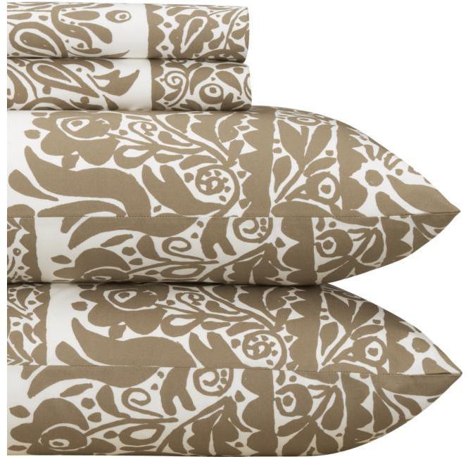 Marimekko ® Sarafan Almond Sheet Sets