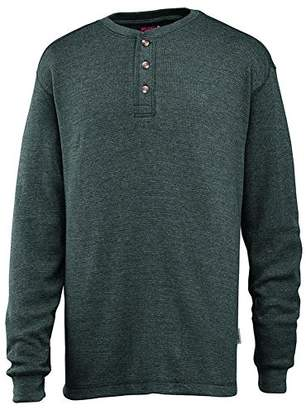 Wolverine Men's Walden Long Sleeve Blended Thermal 3 Button Henley Shirt