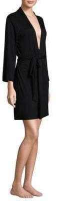 Natori Long-Sleeve Wrap Robe