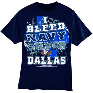 "Encore Select Dallas Football ""I Bleed Navy & Silver - 3X Large T-Shirt"