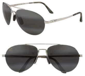 Maui Jim 'Pilot - PolarizedPlus(R)2' 63mm Sunglasses