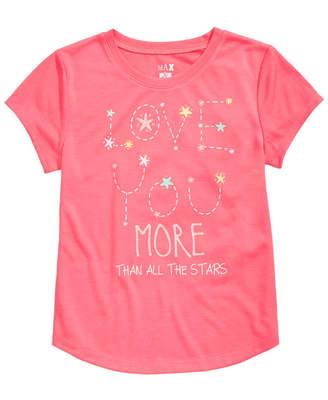 Max & Olivia Graphic-Print Pajama Shirt, Little Girls & Big Girls, Created for Macy's