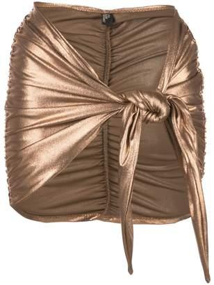 Lisa Marie Fernandez metallic sarong