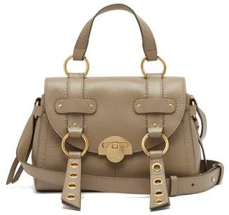 See by Chloe Allen Leather Satchel Bag - Womens - Grey