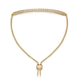Astley Clarke White Sapphire Kula Eternity Bracelet
