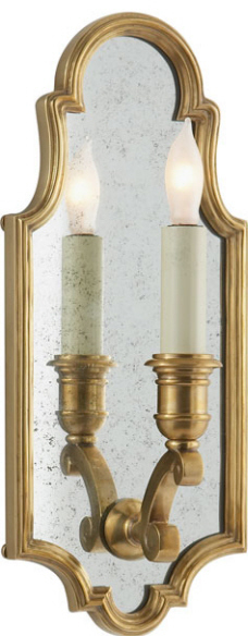E.F. Chapman SMALL SUSSEX FRAMED SCONCE