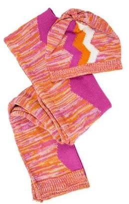 Missoni Knit Hat & Scarf Set w/ Tags