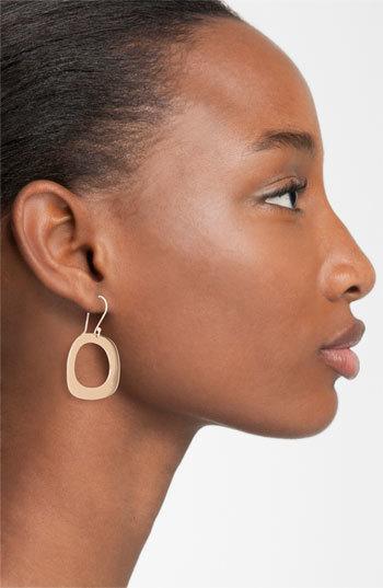 Ippolita 'Lite Links' Rosé Square Drop Earrings