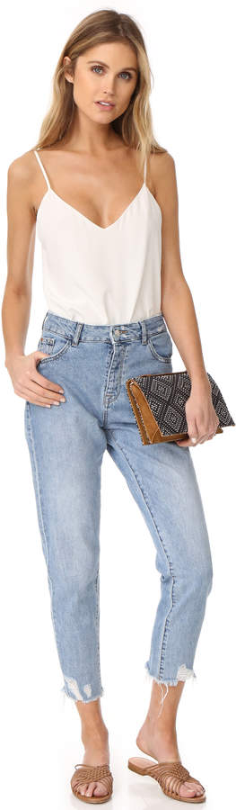 DL1961 Goldie High Rise Tapered Jeans 5