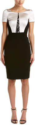 Karen Millen Sculptural Tailoring Sheath Dress