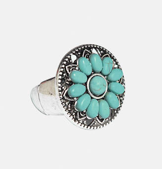 Avenue Turquoise Flower Ring