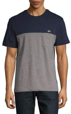 Lacoste Short-Sleeve Cotton Tee