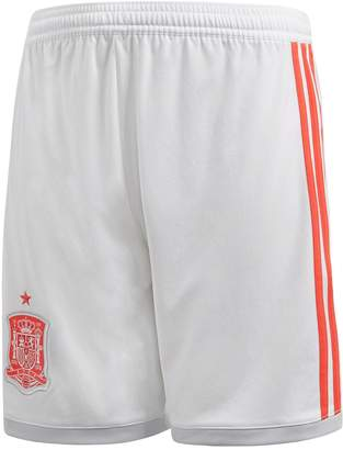 adidas Junior Away Spain 2018 Replica Short - White