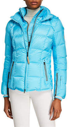 Bogner Vera Quilted Down Puffer Coat with Hood