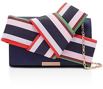 Ted Baker Dannyy Bay of Honor Knot Bow Evening Bag