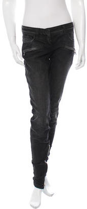 Balmain Distressed Skinny Jeans $325 thestylecure.com
