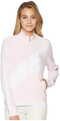 Juicy Couture Track Velour Sporty Heritage Jacket Women's Clothing