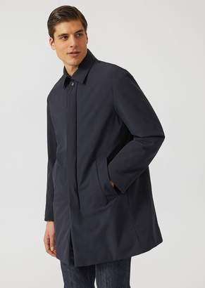 Emporio Armani Water-Repellent Raincoat