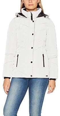 Tom Tailor Women's Cold Day Jacket (Whisper White 8210), (Size: Medium)