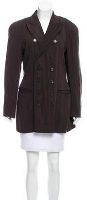 Jean Paul Gaultier Wool Pinstripe Blazer