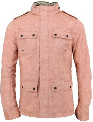 Lords of Harlech - Captain Jacket In Rust Linen