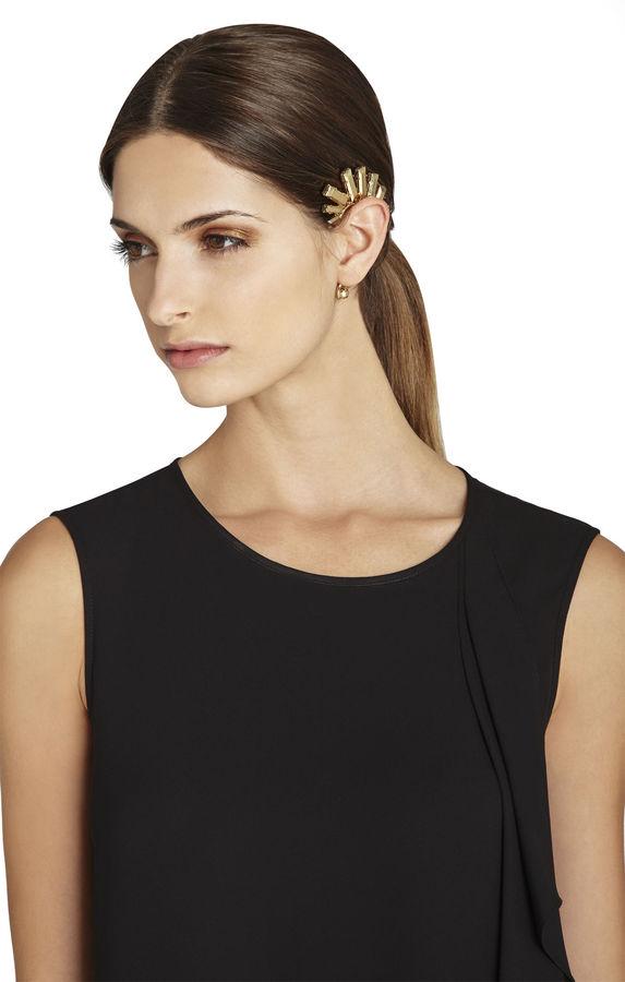 BCBGMAXAZRIA Metal Stone Ear Cuff - Right Ear