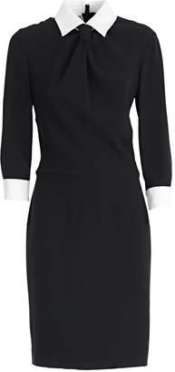 Moschino Slim Collared Dress