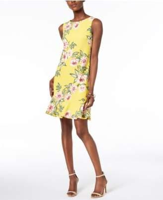 Jessica Howard Floral-Print A-Line Dress, Regular & Petites