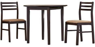 Andover Mills Lynbrook 3 Piece Counter Height Dining Set