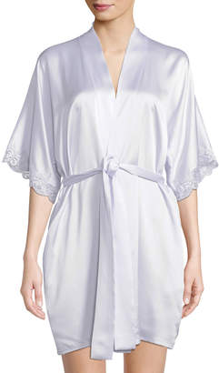 Christine Lingerie Bijoux Short Silk Robe