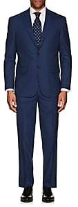 Piattelli MEN'S NAPOLI WOOL-SILK TWO-BUTTON SUIT