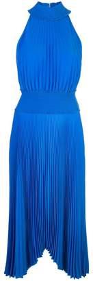 A.L.C. halter neck pleated dress