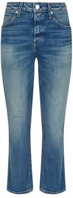 Amo Denim Babe High-Rise Straight Jeans