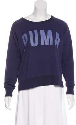 Puma Graphic Scoop Neck Sweatshirt